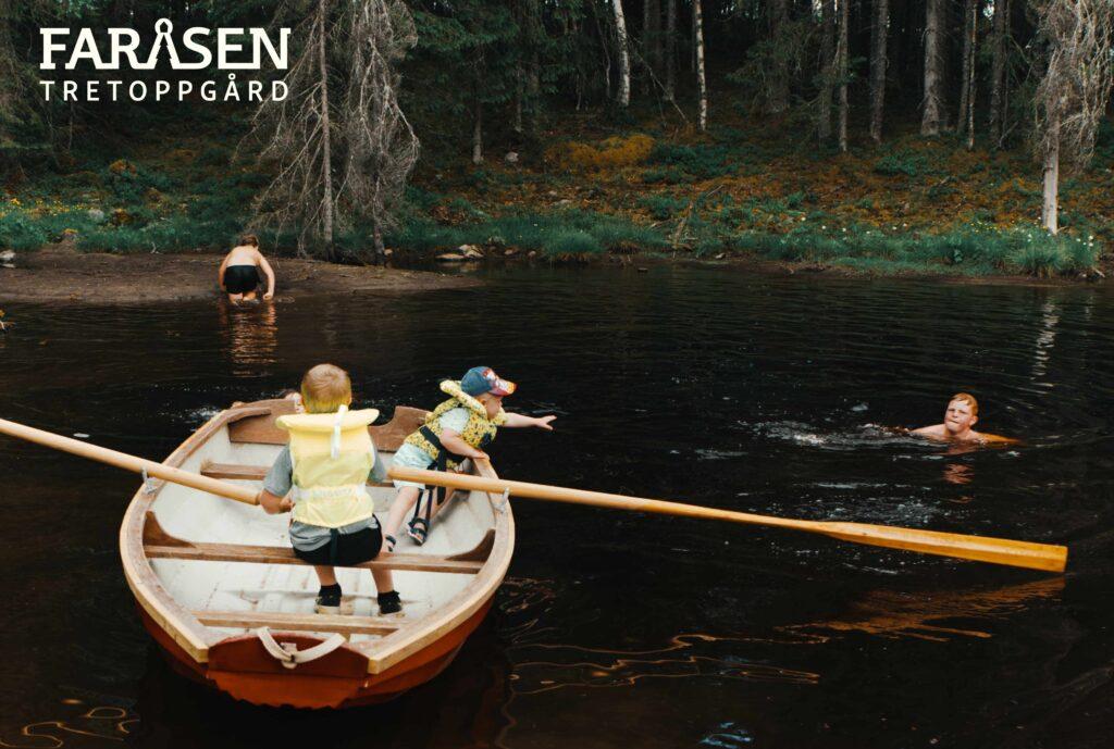 norgesferie med barn